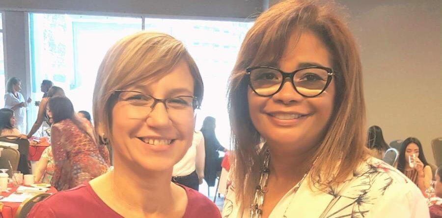 Las nutricionistas dietistas licenciadas, Mayra López Ortiz y Waleska Aponte idearon el Adobo Mi Sabor. (Suministrada)